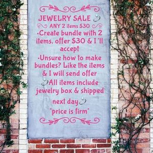 Jewelry - Jewelry Clearance Sale - Any 2 items for $30